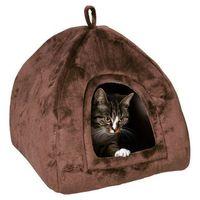 domek dla kota moon 45x40x45cm brązowy marki Trixie