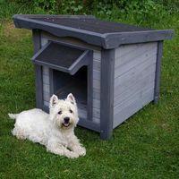 Zooplus Buda dla psa sylvan basic - s: szer. x gł. x wys.: 56 x 76 x 68 cm