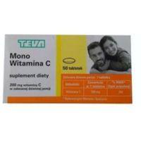 Tabletki Mono Witamina C, 50 tabletek - Długi termin ważności! DARMOWA DOSTAWA od 39,99zł do 2kg!