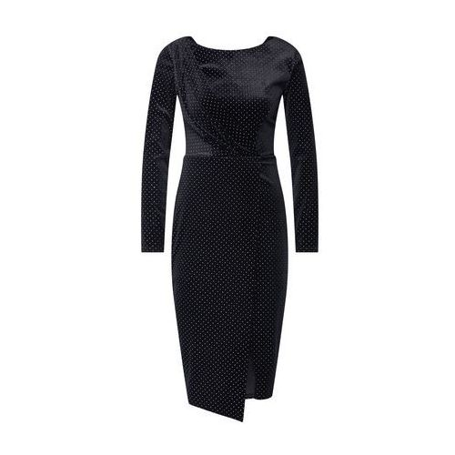 Closet London Sukienka czarny, kolor czarny
