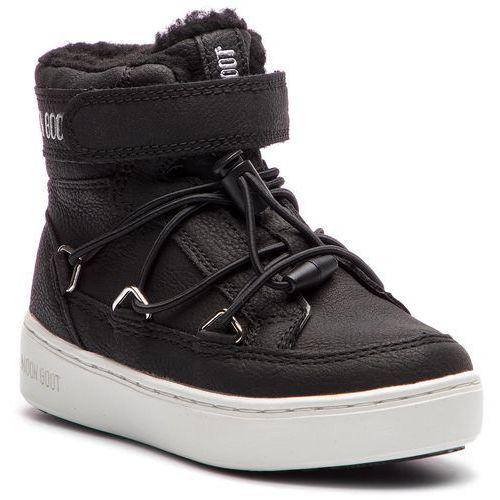 Śniegowce MOON BOOT - Pulse Jr Boy Paris 34060900001 Black, kolor czarny
