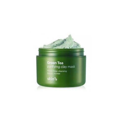 Maska glinkowa z zieloną herbatą, 95ml Skin79