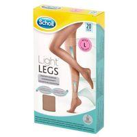 SCHOLL 1szt Light Legs L Rajstopy uciskowe cienkie 20 DEN cieliste