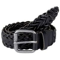 pasek BENCH - Plaited Leather Belt Black Beauty (BK11179)