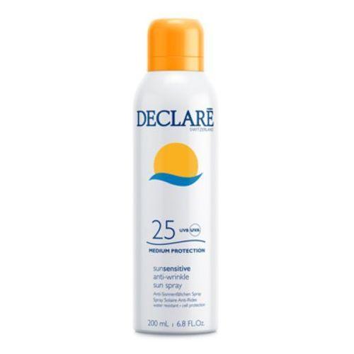 Declaré SUN SENSITIVE ANTI-WRINKLE SUN SPRAY SPF 25 Przeciwzmarszczkowy spray do ciała SPF 25 (724) - Ekstra przecena