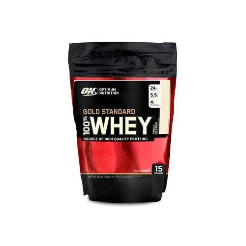 Optimum nutrition 100% whey gold standard vanilla 450g