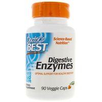 Doctor's Best Digestive Enzymes (Enzymy Trawienne) - 90 kapsułek