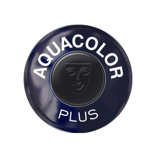Kryolan AQUACOLOR PLUS (BLACK) Farba do makijażu ciała - BLACK (1102)