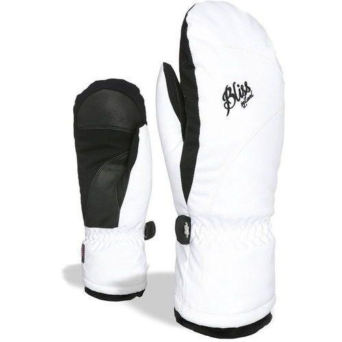LEVEL Damskie rękawice narciarskie Bliss Mummies Mitt White-Clay 8 - M