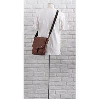 Skórzana torba na ramię 2jus by daag stone 3 koniakowa