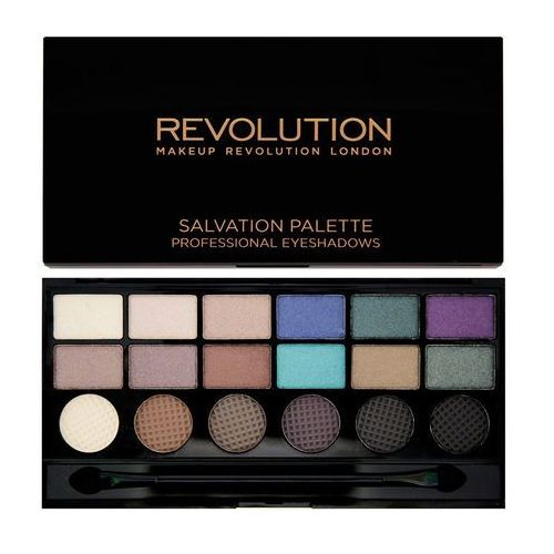 Makeup revolution salvation palette welcome to the pleasuredome - paleta cieni do powiek 18 odcieni