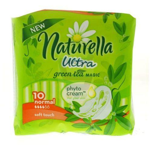 Naturella ultra podpaski zielona herbata 10 szt