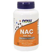 NAC Acetyl Cysteine 600mg 100 kaps.