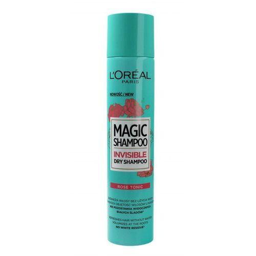 Magic Shampoo Invisible suchy szampon do włosów w sprayu Rose Tonic 200ml