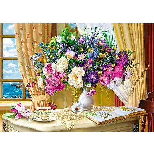 Puzzle 1000 Kwiaty o poranku TREFL