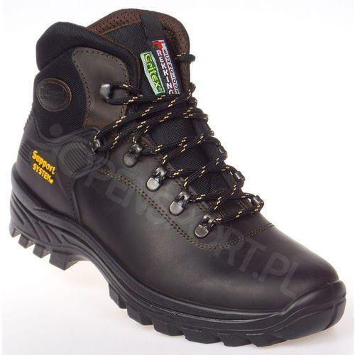 Męskie buty trekkingowe lontra dakar brązowy 42 marki Grisport