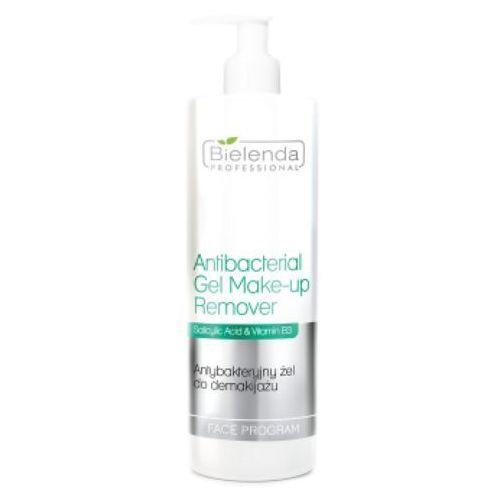 antibacterial gel make-up remover antybakteryjny żel do demakijażu (500 ml) marki Bielenda professional - fotografia