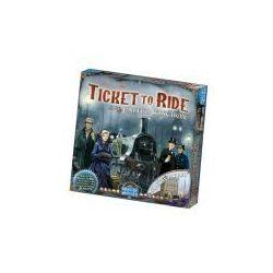 Wsiąść do pociągu: wielka brytania / pensylwania. gra planszowa marki Rebel
