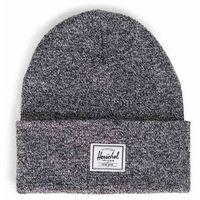 czapka zimowa HERSCHEL - Elmer Heathered Black (0096)