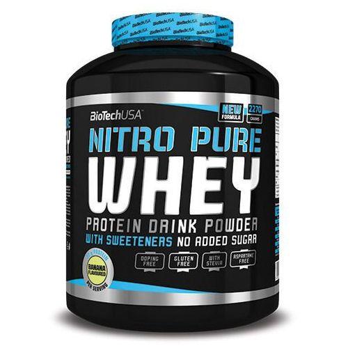 Biotech usa nitro pure whey - 2270g - strawberry