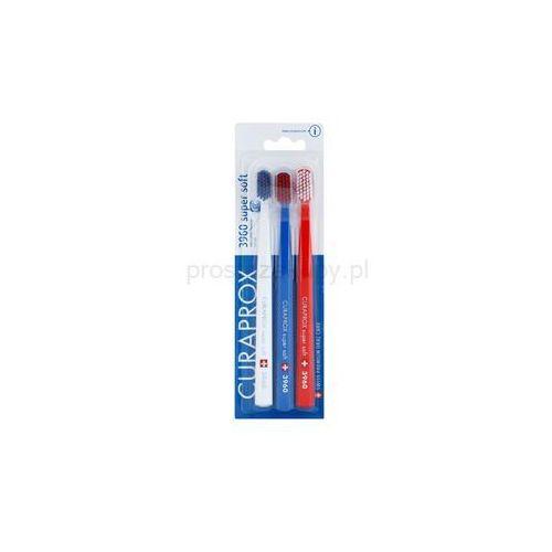 Curaprox  3960 super soft szczoteczki do zębów 3 szt. + do każdego zamówienia upominek.