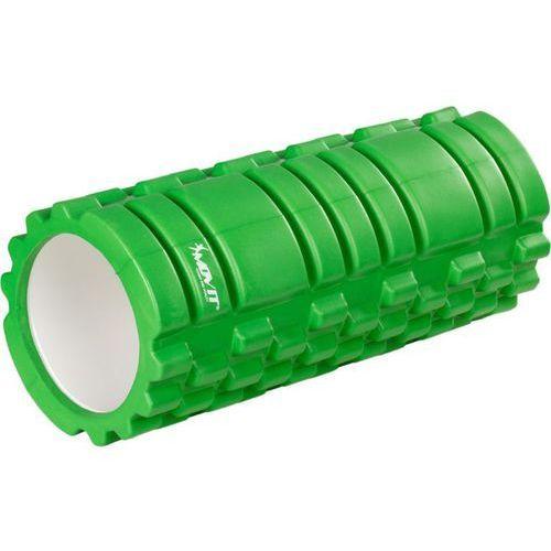 Wałek do masażu MOVIT 33 x 14 cm, zielony