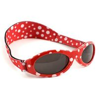 Okulary przeciwsłoneczne dzieci 0-2lat UV400 BANZ - Red Dot