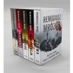 Książki horrory i thrillery  Mróz Remigiusz