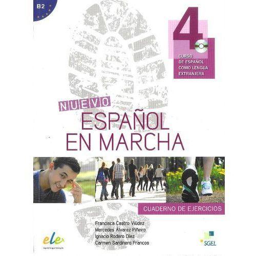 Nuevo Espanol en marcha 4 ćwiczenia CD audio, oprawa miękka