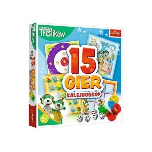 Zestaw 15 gier Kalejdoskop Trefliki + PREZENT do zakupów za min.100 zł.