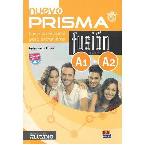 Nuevo Prisma fusion A1 A2 podręcznik (9788498485202)