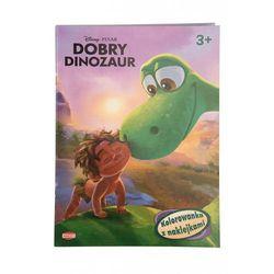 Ameet Dobry dinozaur kolorowanka z naklejkami