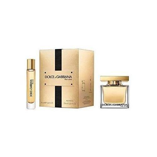 Dolce&Gabbana The One zestaw 50 ml Edp 50 ml + Edp 7,4 ml dla kobiet (3423478410251)