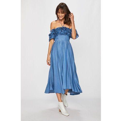 - sukienka jeansowa marki Miss sixty