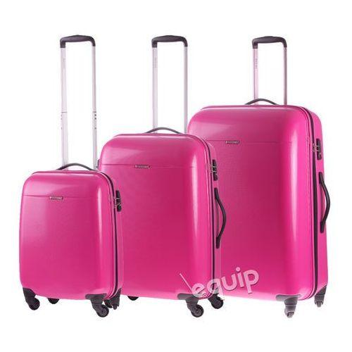 86a032f397089 Puccini Zestaw walizek pc 005 - różowy - zdjęcie Puccini Zestaw walizek pc  005 - różowy