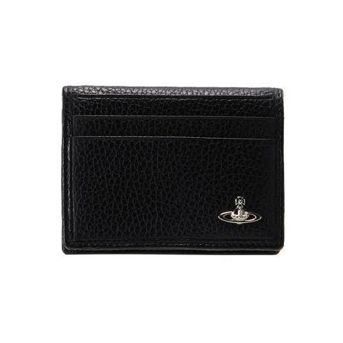 Vivienne Westwood MILANO SMALL CARD HOLDER Etui na wizytówki black
