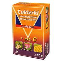 Cukierki prawoślazowo-tymiankowe z miodem 80g