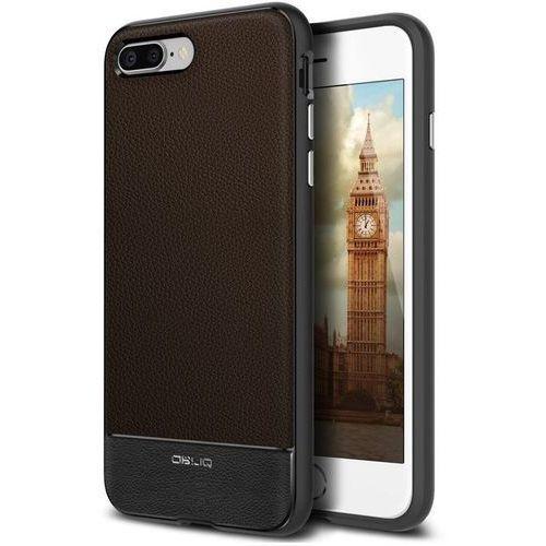 Slim meta etui iphone x titanium black obliq for Etui housse iphone 4