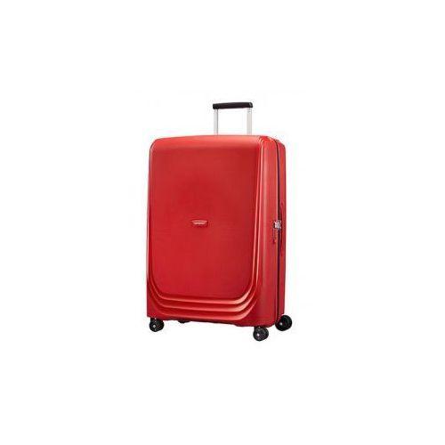 SAMSONITE średnia walizka M 4 koła z kolekcji OPTIC materiał 100% polipropylen zamek szyfrowy TSA, 68D*002