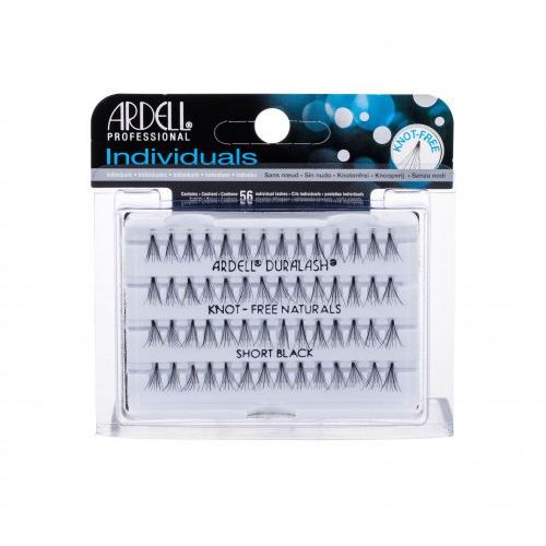 Individuals duralash knot-free naturals sztuczne rzęsy 56 szt dla kobiet short black Ardell - Sprawdź już teraz