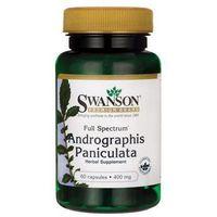 Full Spectrum Andrographis Paniculata 400mg 60 kaps.