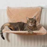 Yumi legowisko dla kota na kaloryfer - dł. x szer.: 49 x 37 cm marki Bitiba