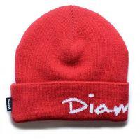 czapka zimowa DIAMOND - Og Script Red Red (RED) rozmiar: OS
