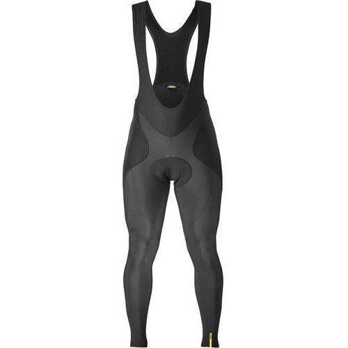 ksyrium elite spodnie na szelkach mężczyźni, black xxl 2019 spodnie zimowe marki Mavic