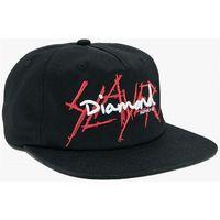 czapka z daszkiem DIAMOND - Dmnd Slayer Unstructured Strapback Black (BLK)