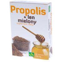 Kapsułki Propolis + len mielony 48 kaps.