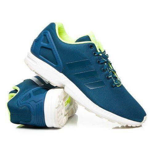 zx flux men niebieski marki Adidas