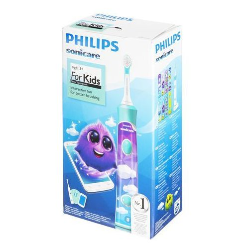 Philips Szczoteczki do zębów hx6321/04 (soniczna; kolor turkusowy)