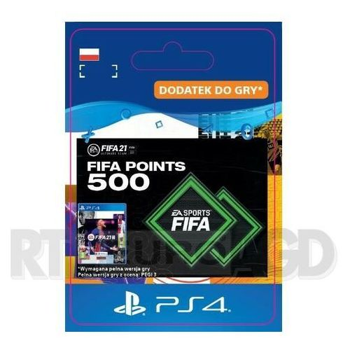 Sony Fifa 21 500 punktów [kod aktywacyjny] ps4