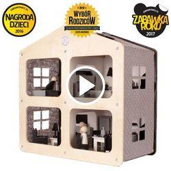 Oloka-gruppe Domek dla lalek drewniany domos